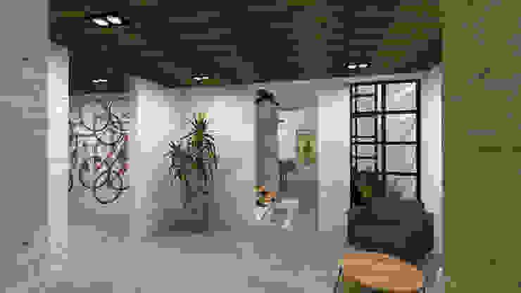 DE LEON PRO Koridor & Tangga Modern