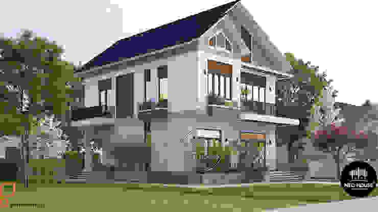 Mẫu thiết kế biệt thự hiện đại đẹp 2 tầng tại Tphcm bởi NEOHouse