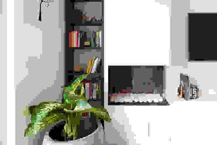 Appartamento 80mq, Roma Monte Verde Soggiorno moderno di Facile Ristrutturare Moderno