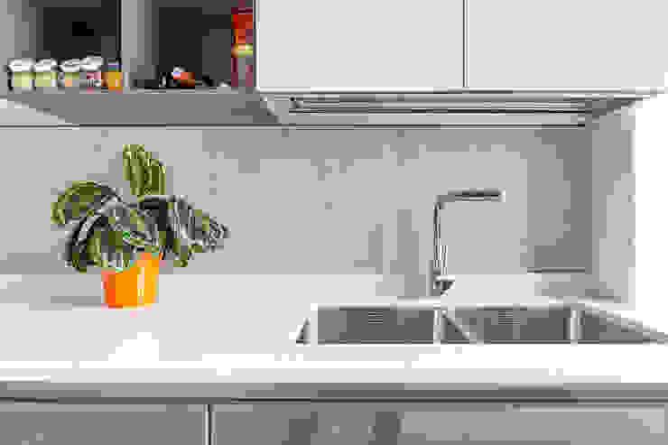 Appartamento 80mq, Roma Monte Verde Cucina moderna di Facile Ristrutturare Moderno