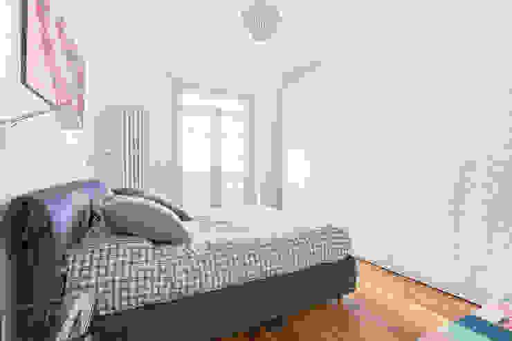 Appartamento 80mq, Roma Monte Verde Camera da letto moderna di Facile Ristrutturare Moderno