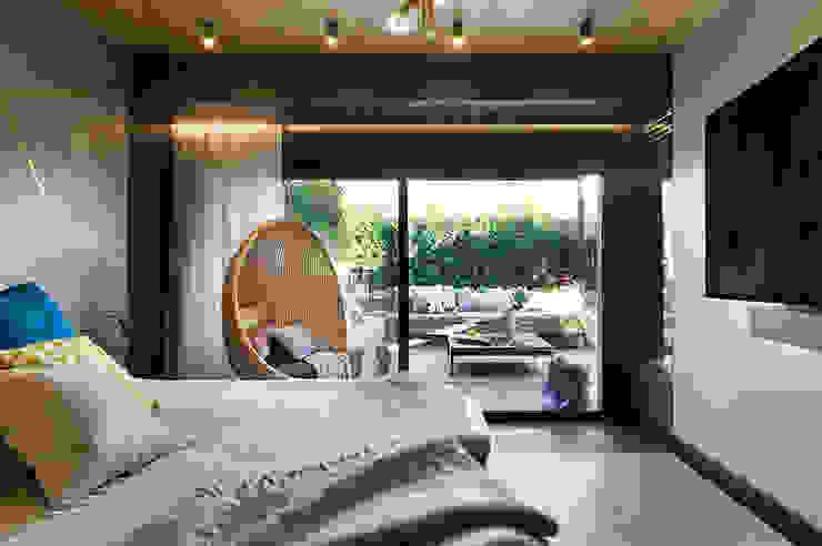 Habitaciones de estilo ecléctico de Egue y Seta Ecléctico
