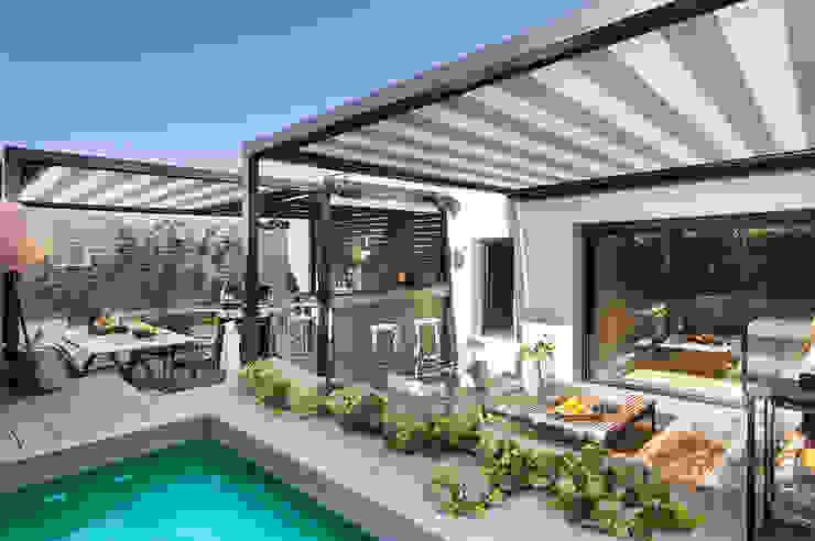 Balcones y terrazas de estilo ecléctico de Egue y Seta Ecléctico