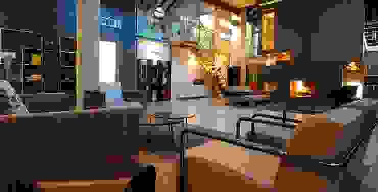 Spazio Color di 10 Watt Location a Milano 10 Watt Location Sedi per eventi moderne Ambra/Oro