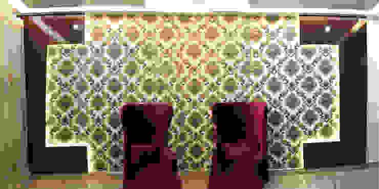 Living Rooms: asian  by Esthetics Interior,Asian