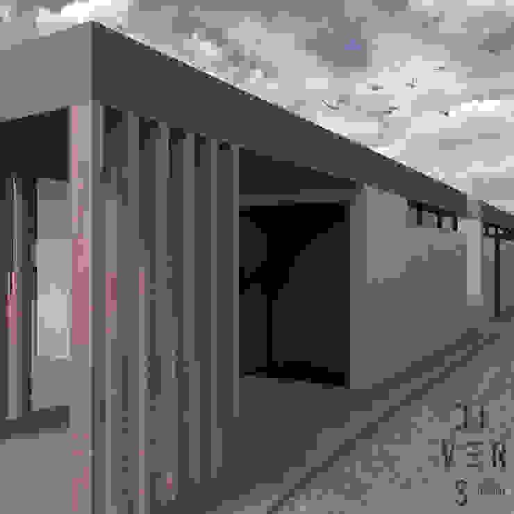 Vista este de Divers Arquitectura, especialistas en Passivhaus en Sabadell Moderno Madera Acabado en madera