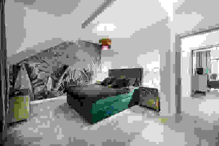 ;-) Nowoczesna sypialnia od livinghome wnętrza Katarzyna Sybilska Nowoczesny Marmur