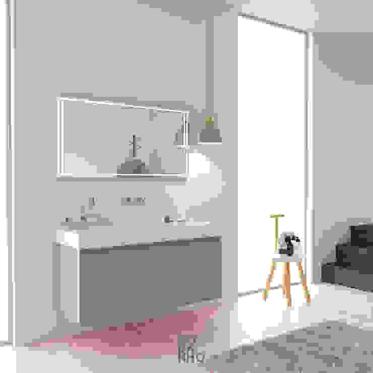 KitBanho ® BathroomMedicine cabinets MDF Beige