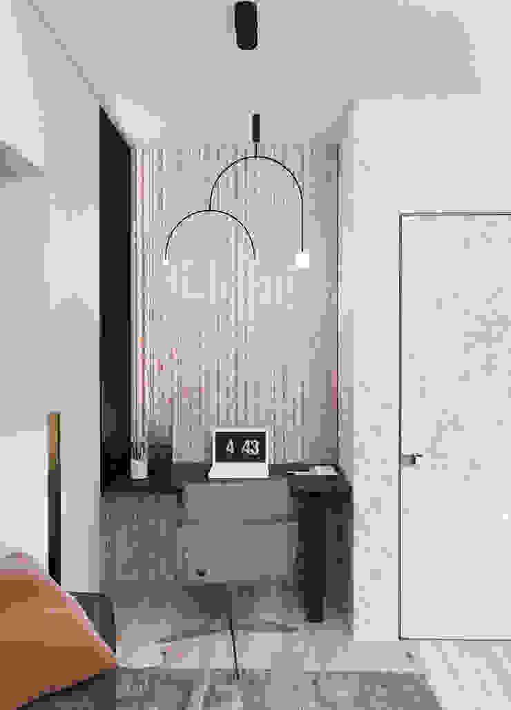 Студия дизайна интерьера квартир в Киеве belik.ua Minimalist study/office