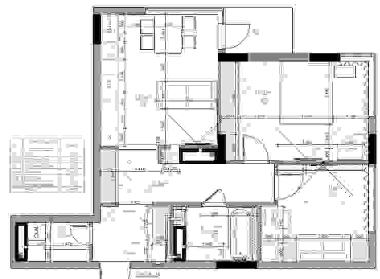 Студия дизайна интерьера квартир в Киеве belik.ua Minimalist walls & floors
