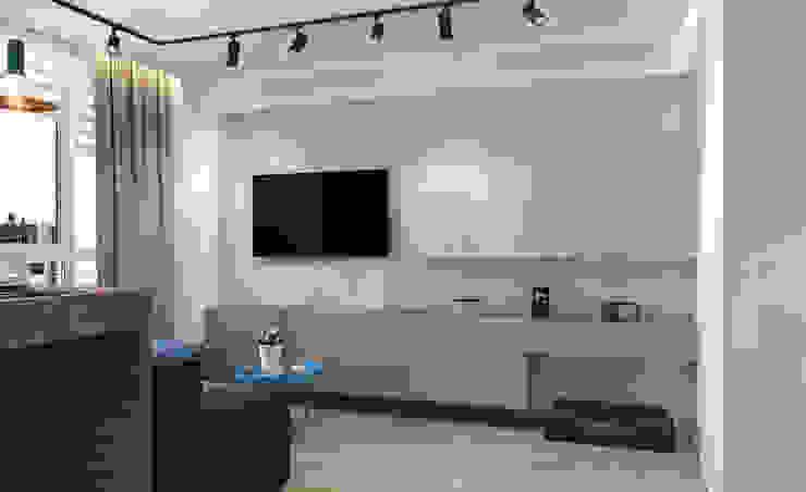 Студия дизайна интерьера квартир в Киеве belik.ua Living room