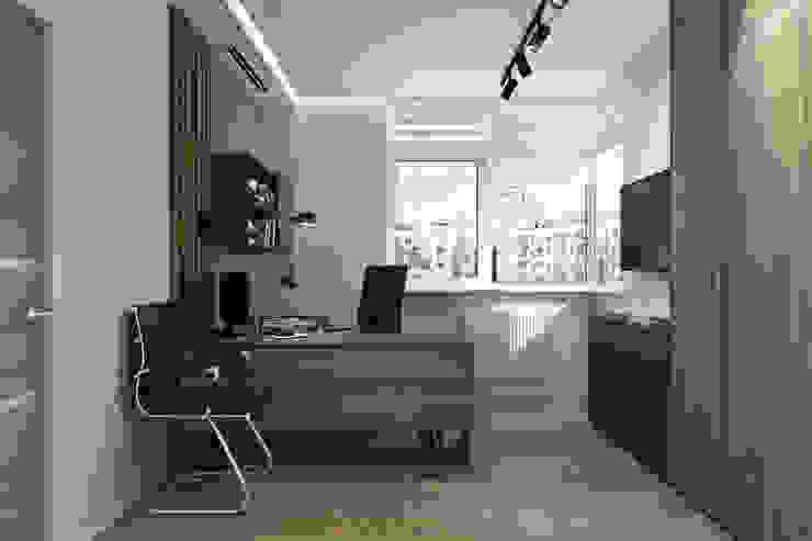 Студия дизайна интерьера квартир в Киеве belik.ua Study/office