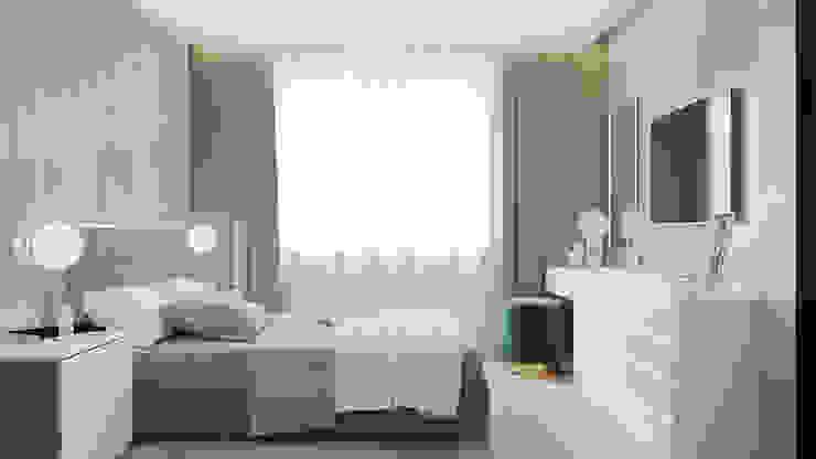 Студия дизайна интерьера квартир в Киеве belik.ua Minimalist bedroom