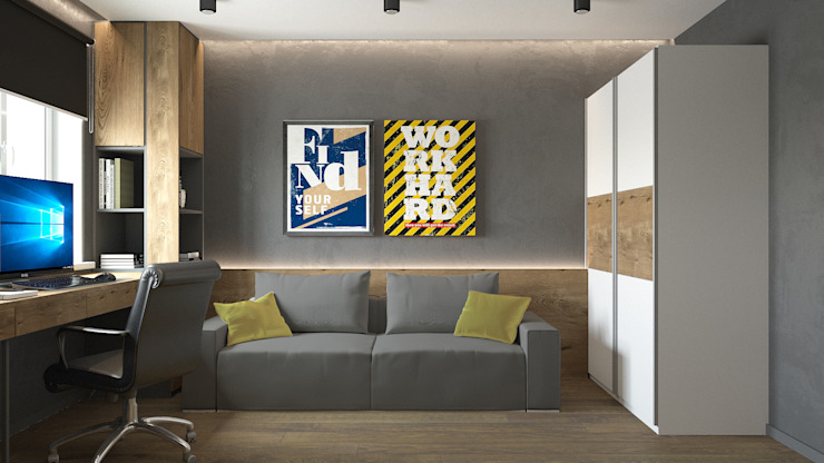 Студия дизайна интерьера квартир в Киеве belik.ua Minimalist nursery/kids room