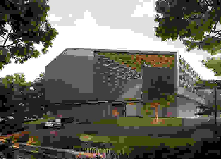 OXO STUDIO ENVISIONS ARTIST STUDIO BASED ON TRADITIONAL JAVANESE HOUSE:modern  oleh OXO Studio, Modern