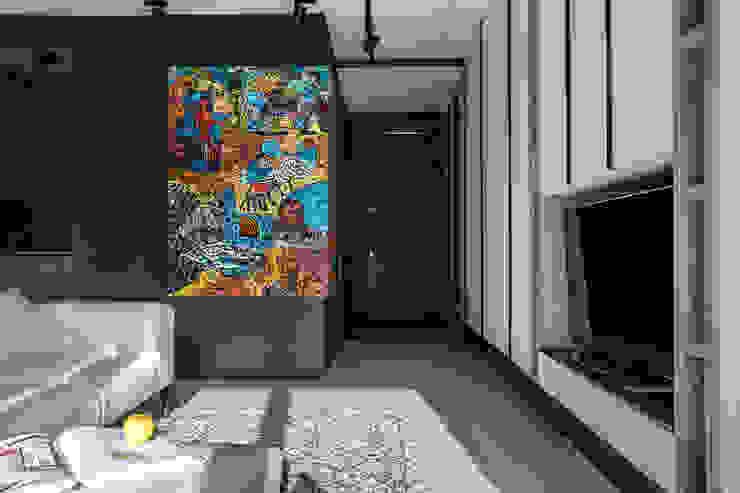 Аязбаева Карлыгаш Аязбаева Карлыгаш Коридор, прихожая и лестница в стиле минимализм