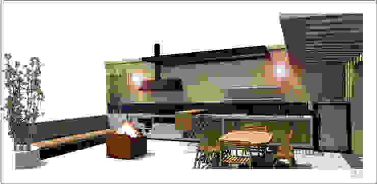 Visualización 3D de A. Ordóñez Arquitectura Moderno