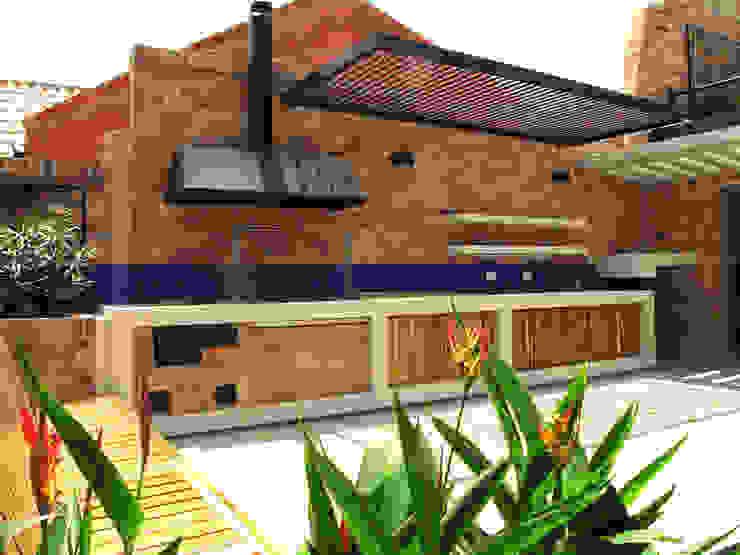 Cocina exterior de A. Ordóñez Arquitectura Moderno