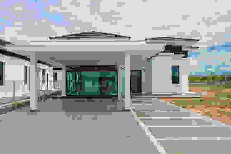 Single Storey Bungalows Architect T.Y. Au Commercial Spaces Bricks White