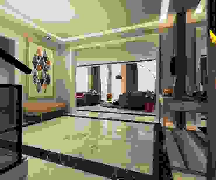 Allegria Sodic الممر الحديث، المدخل و الدرج من Polygon Designs حداثي