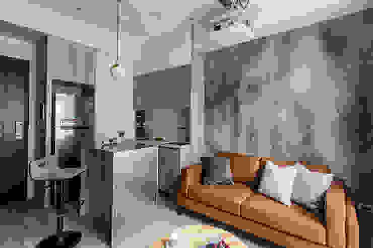 大安Vision D13 现代客厅設計點子、靈感 & 圖片 根據 達力設計有限公司 現代風