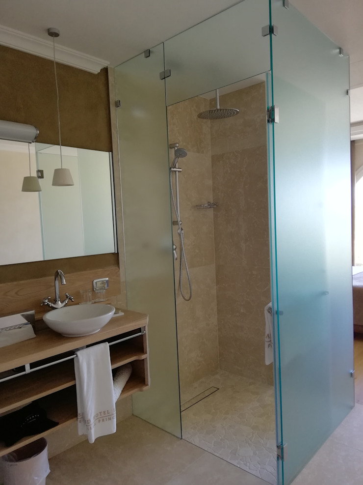Klasyczna łazienka od dMa_Davide Merigo Architetto Klasyczny