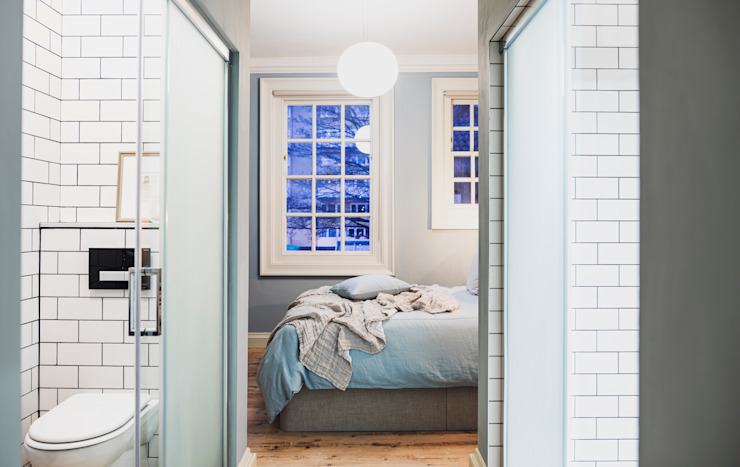 Rosewell House, Bath WN Interiors + WN Store Modern style bedroom Blue