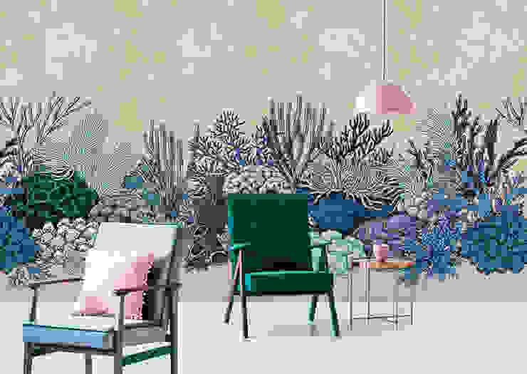 walls by patel 2 - the secret garden A.S. Création Tapeten AG Moderne Wohnzimmer