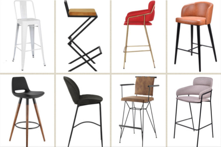 Bar chairs and stools SG International Trade Weinkeller
