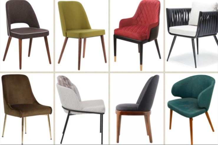 Upholstered chairs and stools SG International Trade JadalniaKrzesła i ławy