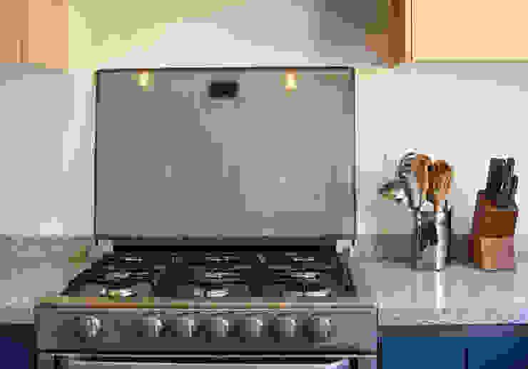 UNO A UNO Small kitchens Chipboard Blue