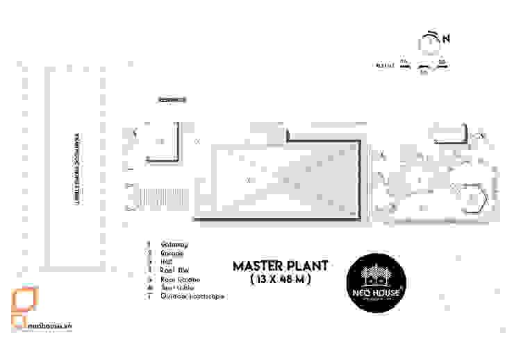 Mẫu thiết kế biệt thự tân cổ điển 3 tầng mái thái tại Cần Thơ bởi NEOHouse