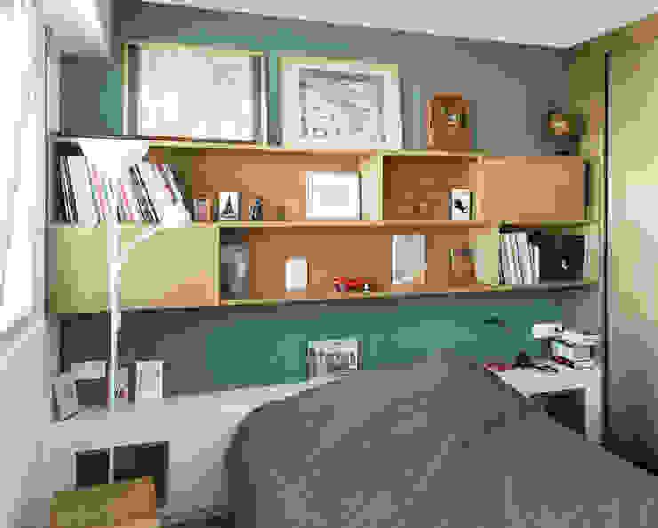 Dormitorios modernos de Lionel CERTIER - Architecture d'intérieur Moderno
