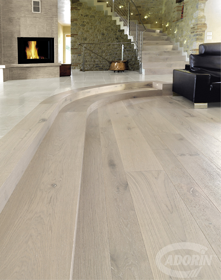 Ideas for combining stairs and parquet Cadorin Group Srl - Italian craftsmanship production Wood flooring and Coverings Floors