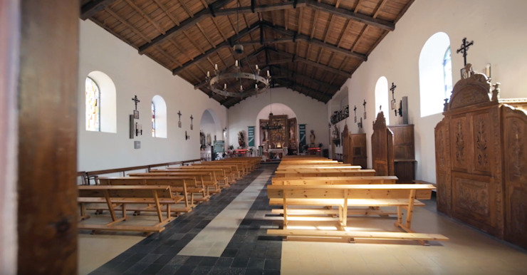 La iglesia de San Tirso de Murprotec Rural