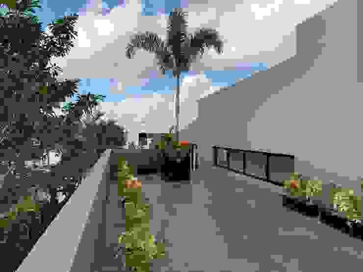 Terraza Edificadora Koopte Balcones y terrazas modernos