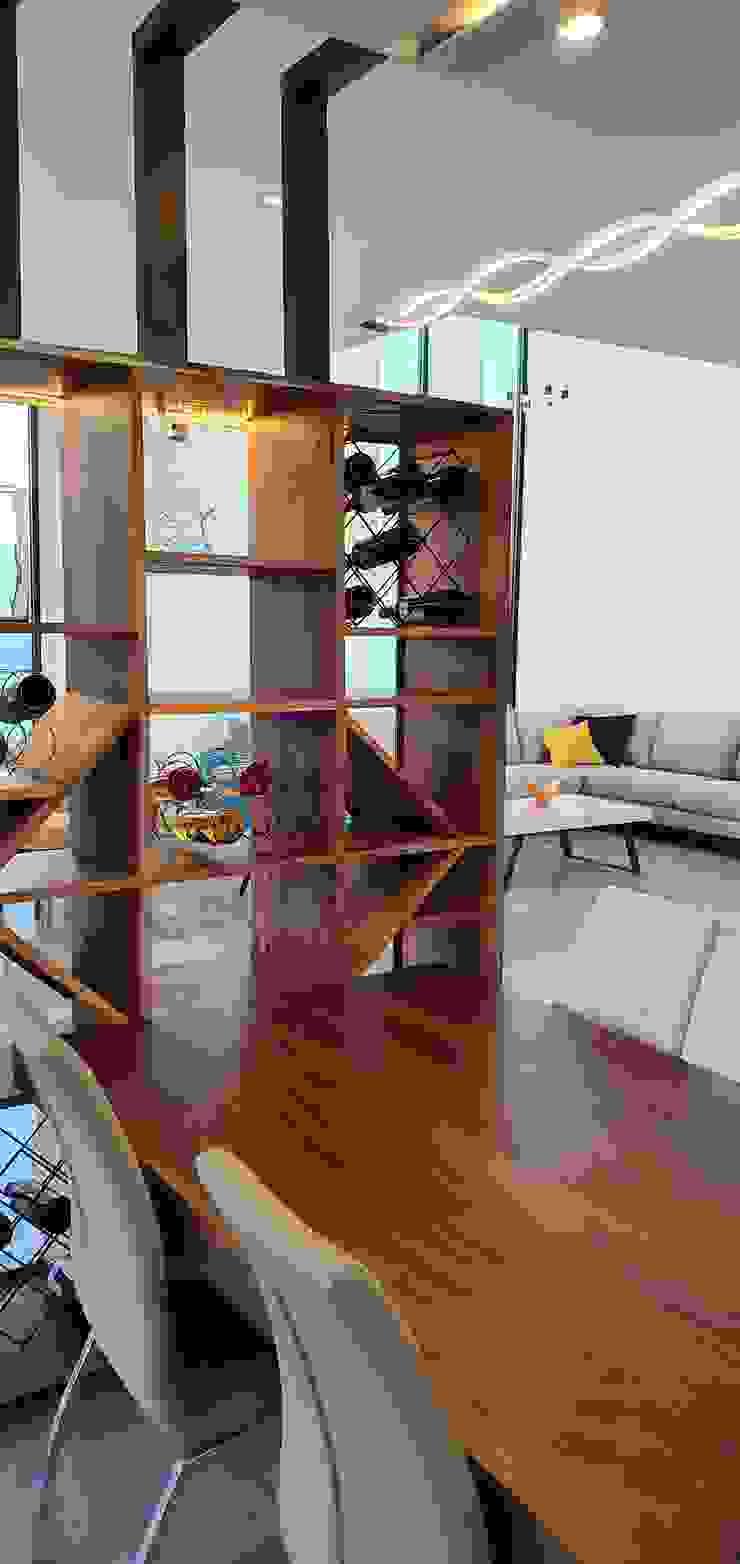Modern wine cellar by Arki3d Modern