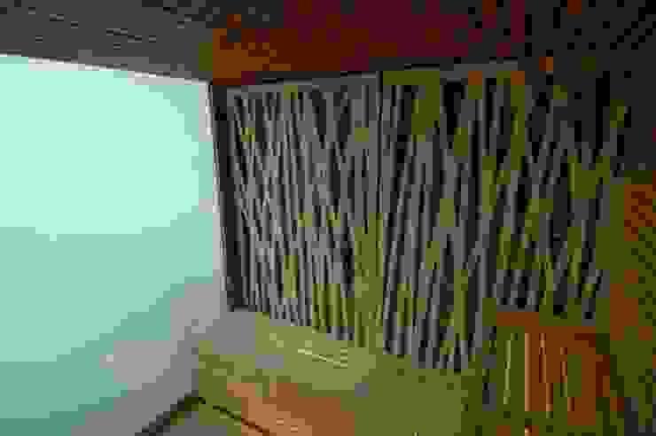 Sauna Hotel Maricel Artspa Gunitec sas Hoteles de estilo minimalista Madera maciza Acabado en madera
