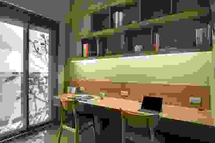 台中登陽步康橋林公館 根據 大漢創研室內裝修設計有限公司 北歐風