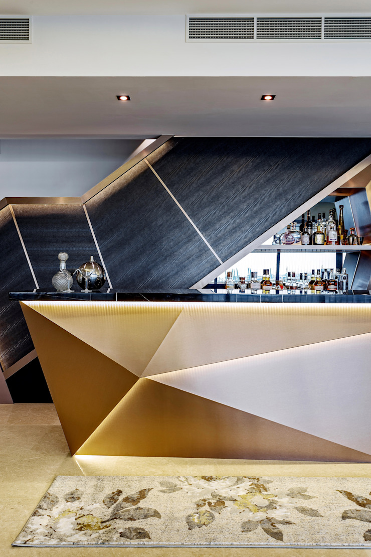 Interlace Summerhaus D'zign Modern living room