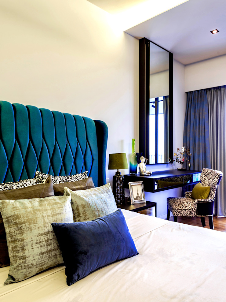Interlace Summerhaus D'zign Modern style bedroom