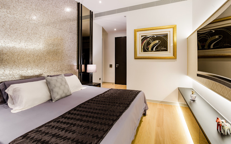 Corals At Keppel Bay Modern style bedroom by Summerhaus D'zign Modern
