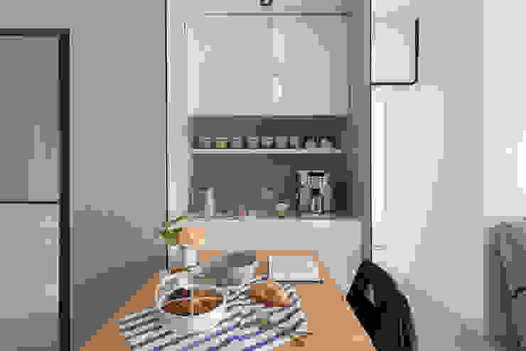 Salle à manger scandinave par 知域設計 Scandinave