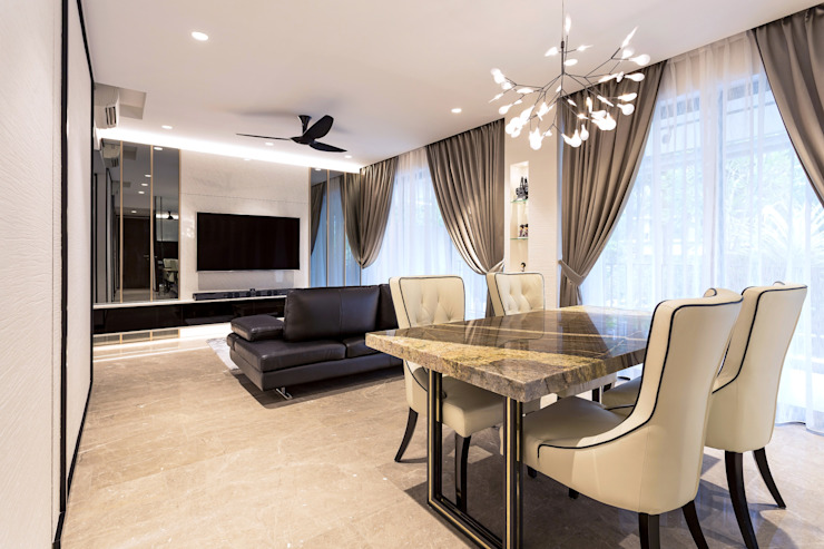 Riverisles Modern living room by Summerhaus D'zign Modern