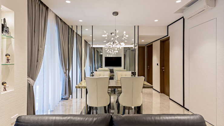 Riverisles Modern dining room by Summerhaus D'zign Modern