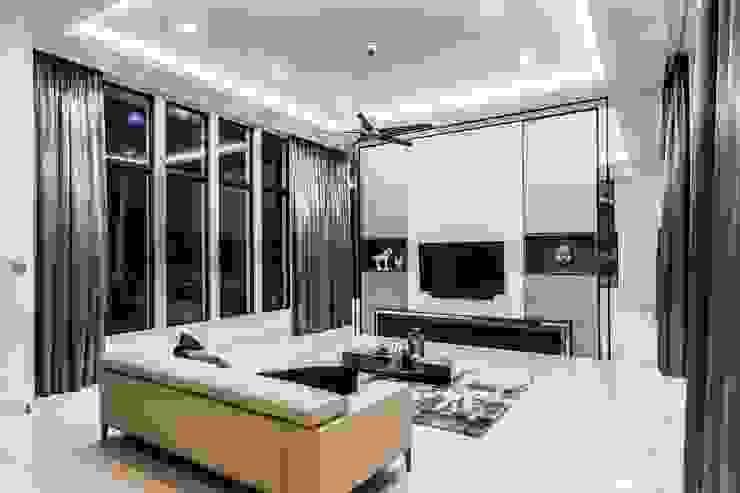 Trevose Crescent Modern living room by Summerhaus D'zign Modern