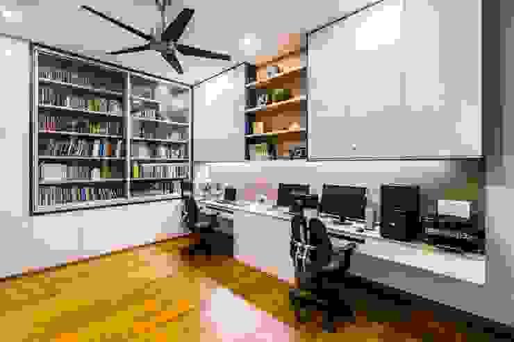 Trevose Crescent Modern study/office by Summerhaus D'zign Modern