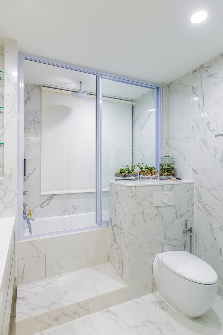 Tessarina Summerhaus D'zign Modern bathroom