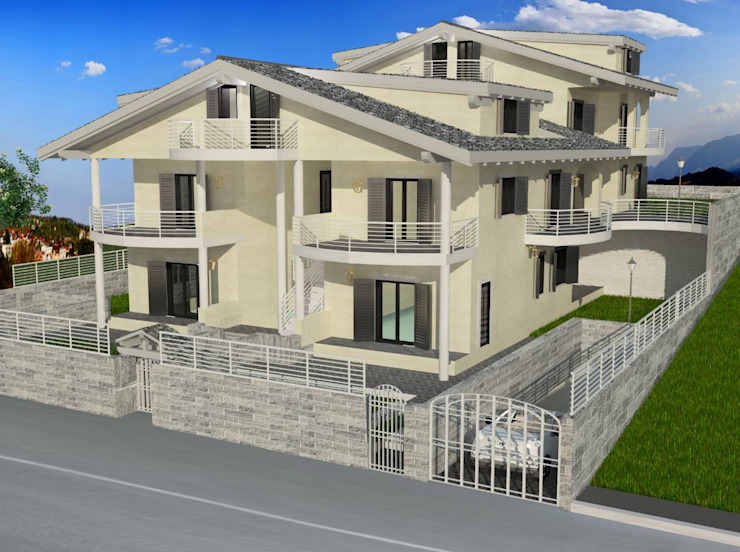 RENDERING Architetto Paolo Cara