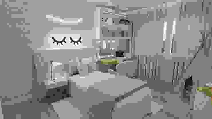 Fabiana Poeta Decoração e Design de Interiores Dormitorios infantiles de estilo ecléctico